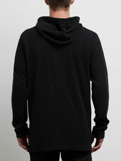 Hoodie Burch Eye Reverse - Black