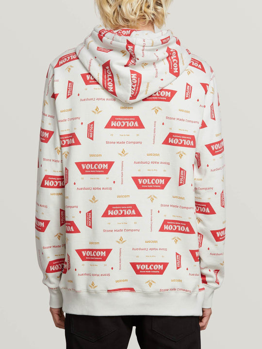 Garage Beers Pullover - White