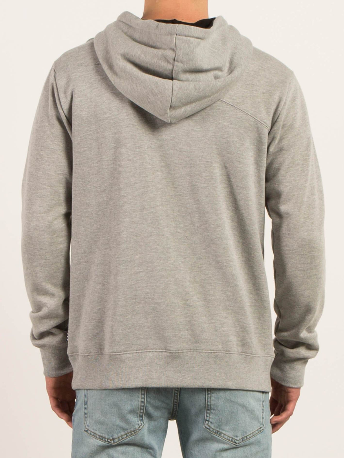 Sngl Stn  Sweatshirts - Heather Grey
