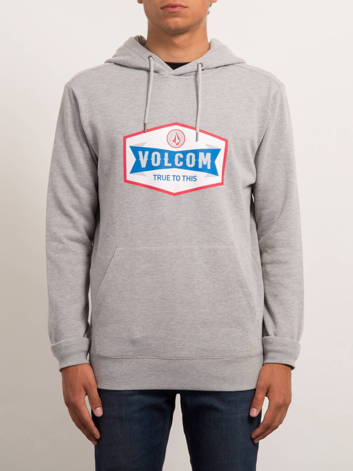 Hoodie Supply Stone - Heather Grey