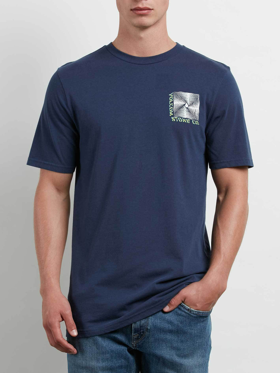 T-Shirt Stone Radiator - Navy