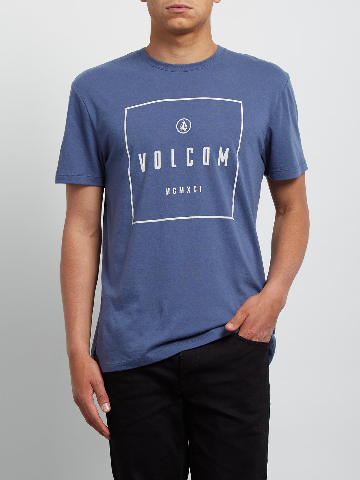 T-Shirt Scribe Double Dye - Deep Blue