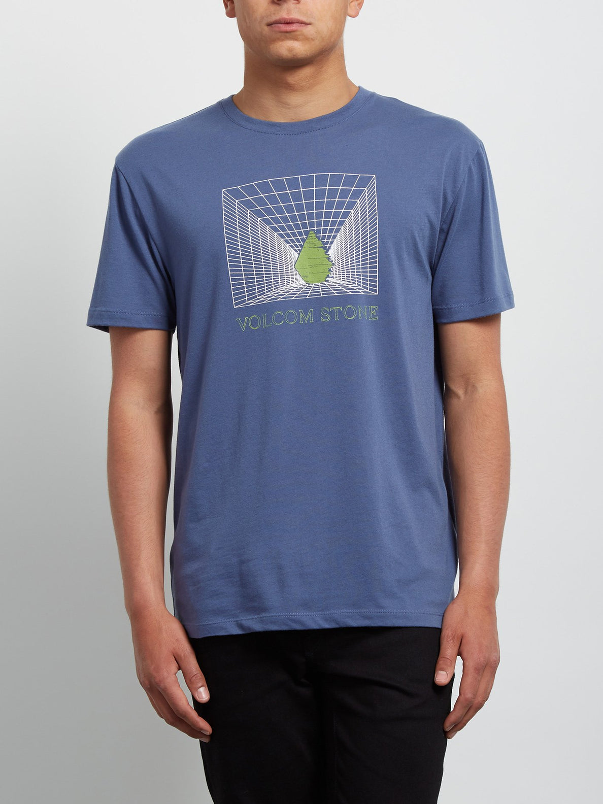 T-Shirt Digi Double Dye - Deep Blue