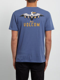 T-Shirt Hellacin Double Dye - Deep Blue