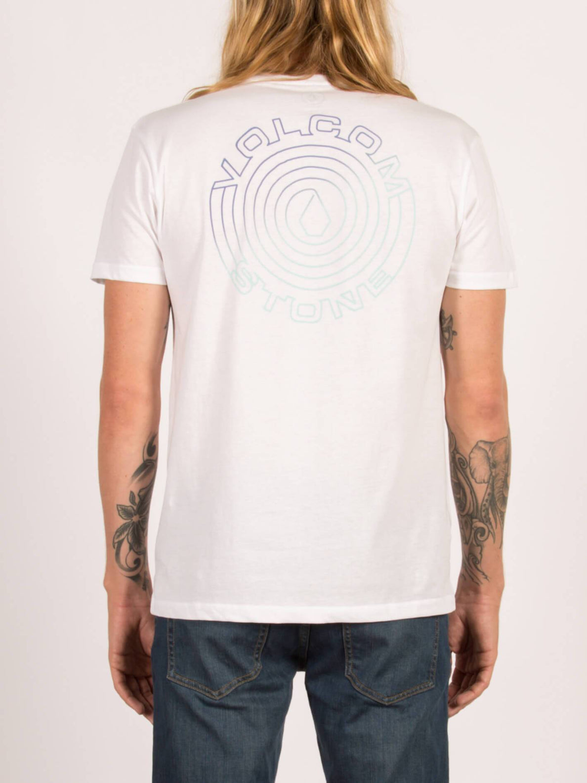 Pocket T-Shirt Soundmaze Lightweight - White