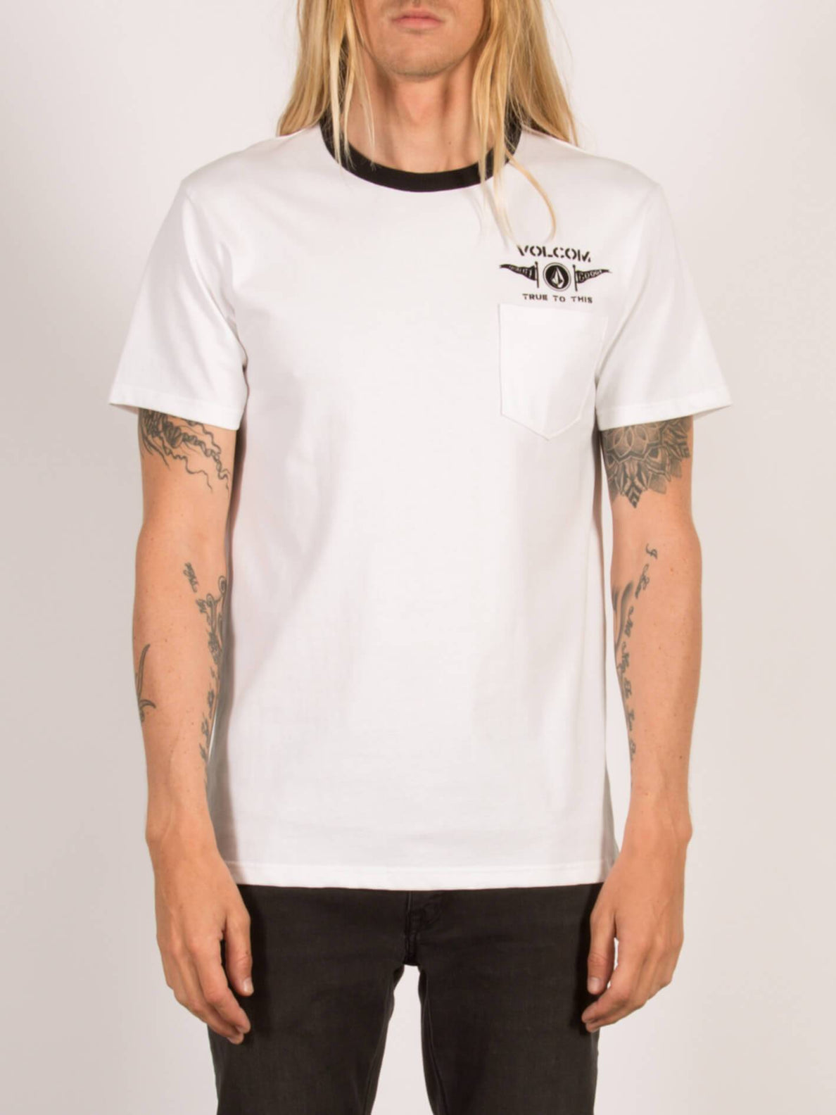 T-Shirt Tringer Heavyweight - White