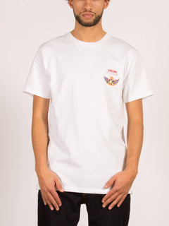 T-Shirt Deserted Heavyweight - White