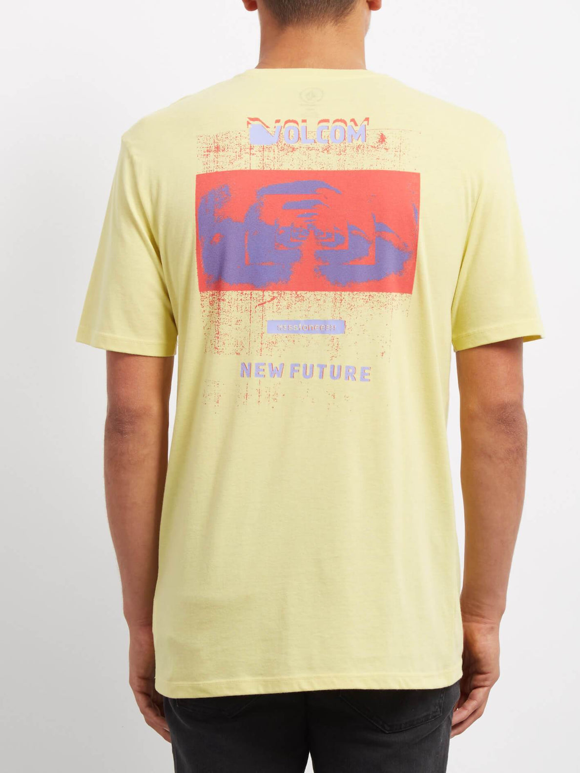 Gateway Dd  T-shirt - Acid Yellow