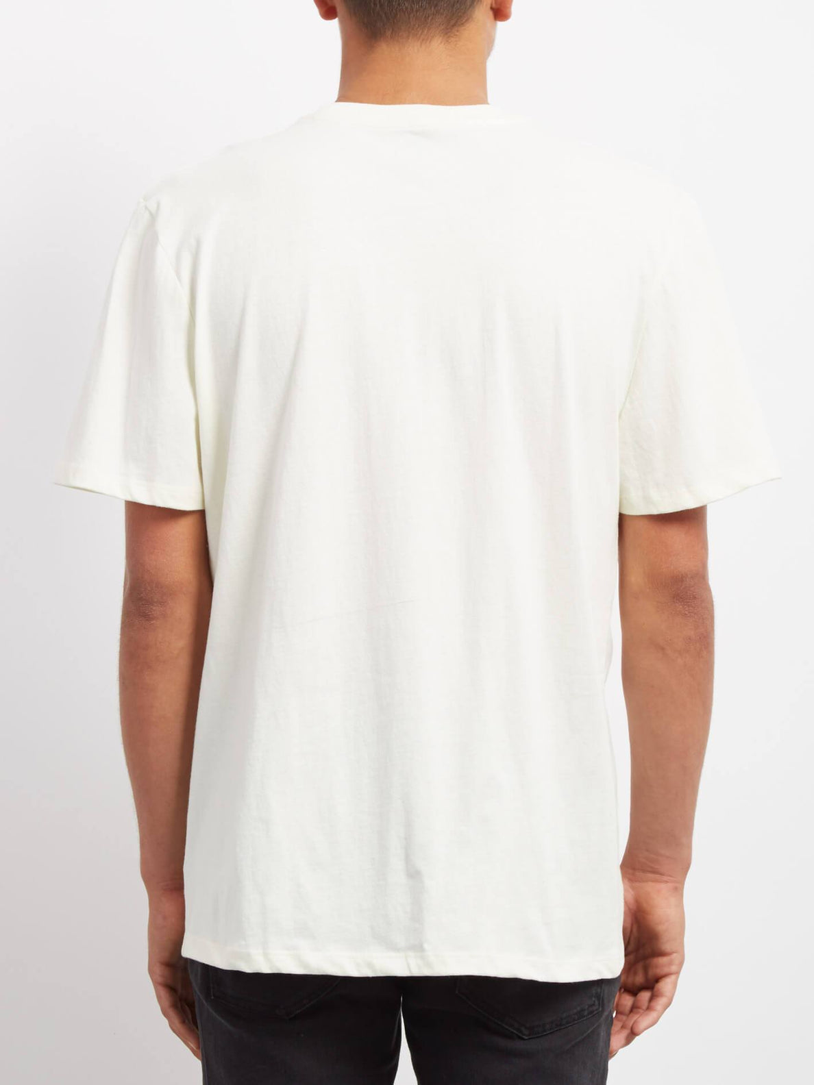 Finger   T-shirt - Dirty White