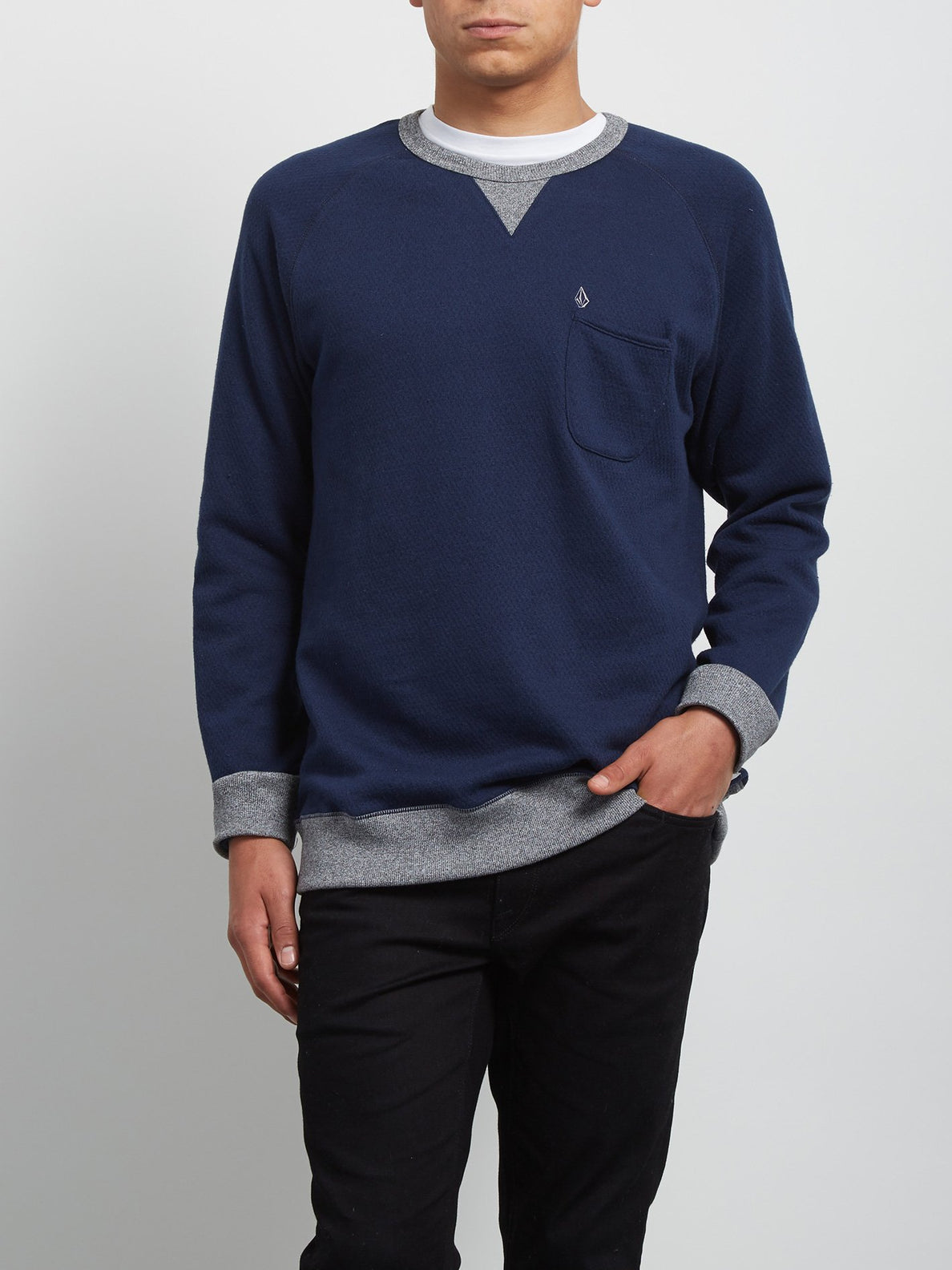 Sweatshirt Shelden - Indigo