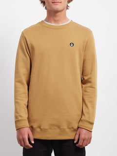 Sngl Stone  Sweatshirts - Old Gold