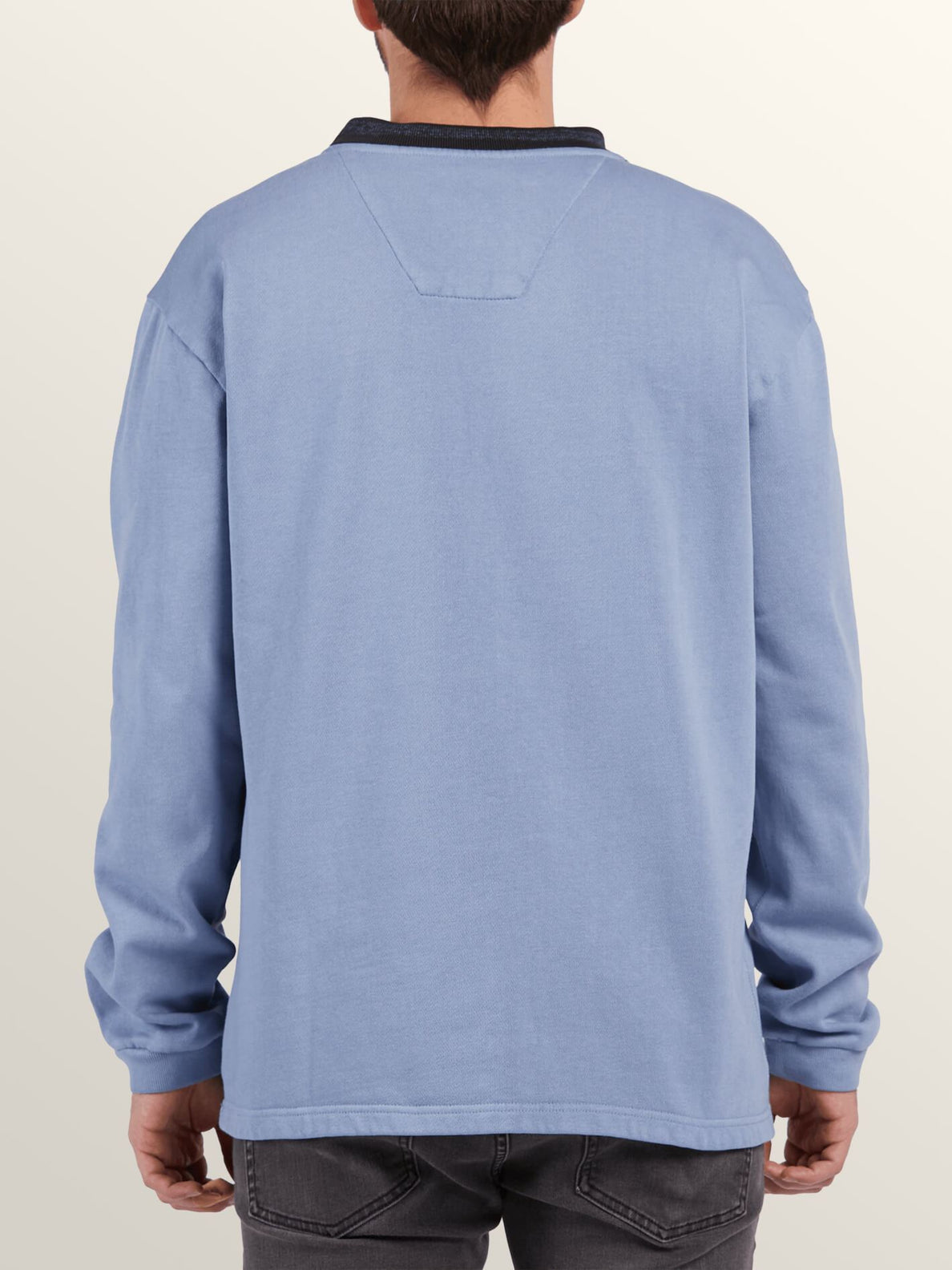 Noa Noise Fleece Sweatshirts - Stone Blue