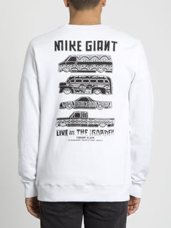 Mike Giant Sweater - White (A4631913_WHT) [B]