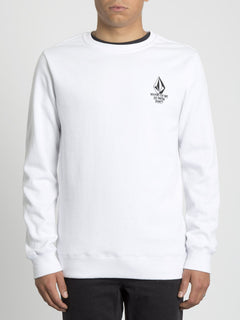 Mike Giant Sweater - White (A4631913_WHT) [F]