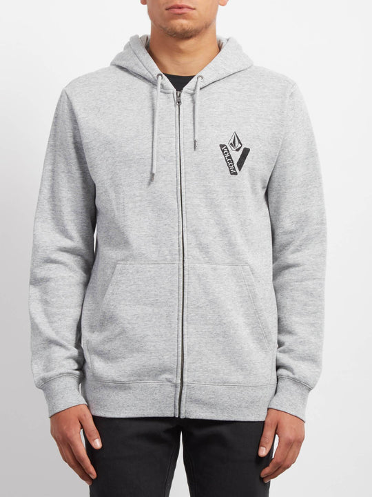 Supply Stone Zip Sweatshirts - Storm