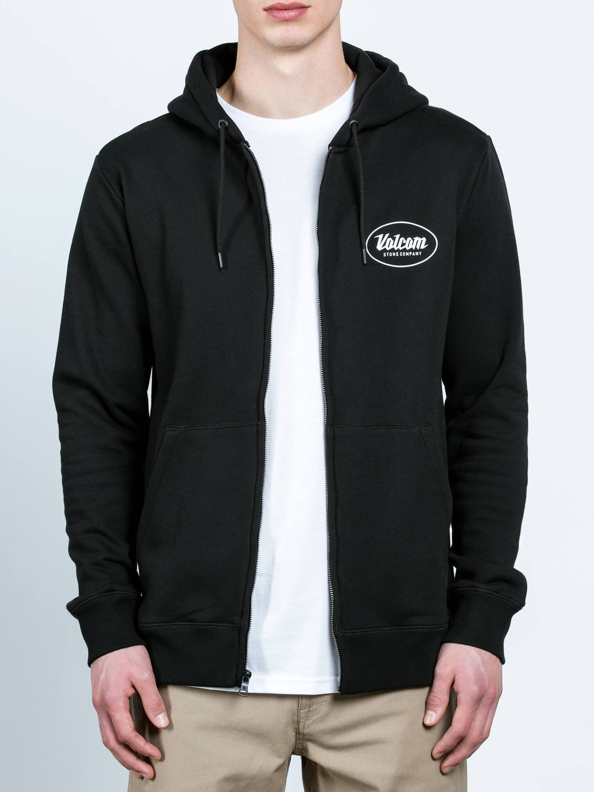 Kapuzenjacke Supply Stone - Black
