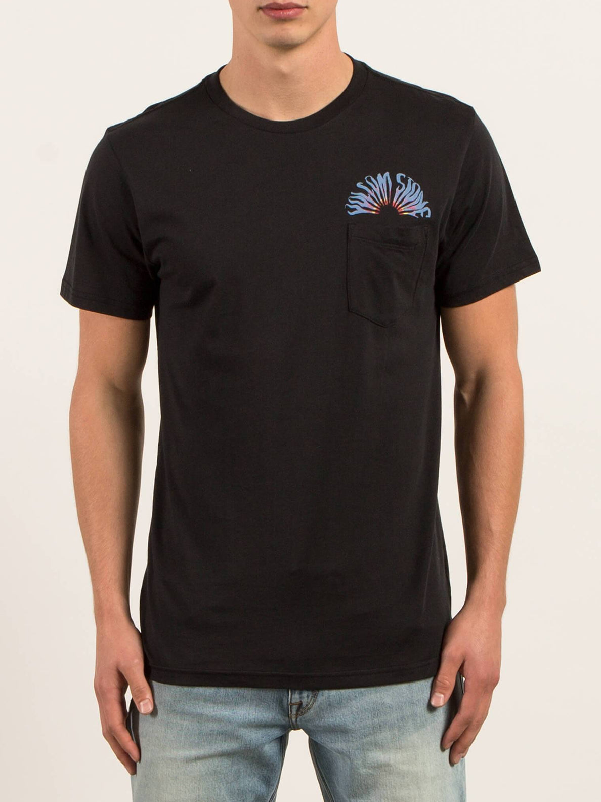 Pocket T-Shirt Doom Bloom - Black