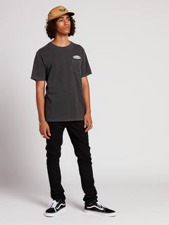 Oval Patch T-Shirt - Black