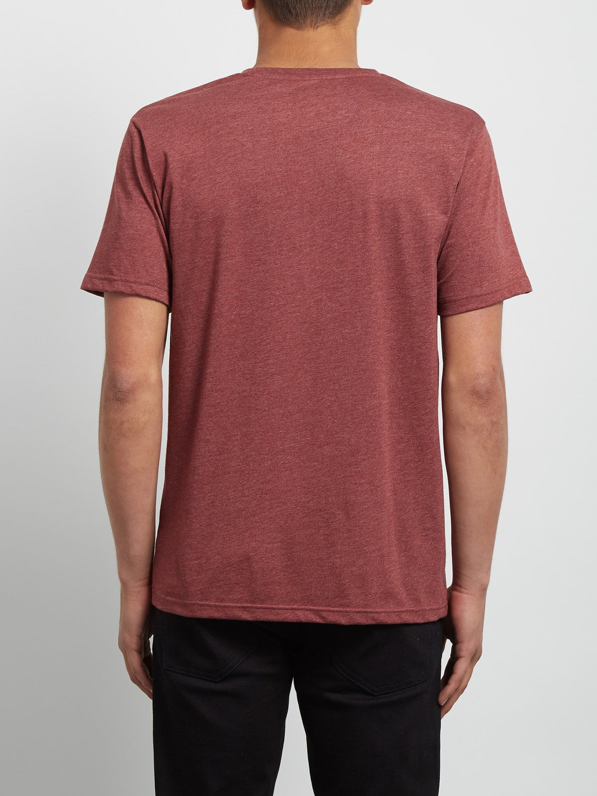 T-Shirt Circle Stone Heather - Crimson