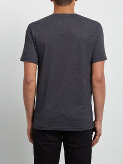 Pocket T-Shirt Lofi Heather - Heather Black