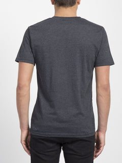 Pin Stone T-Shirt - Heather Black