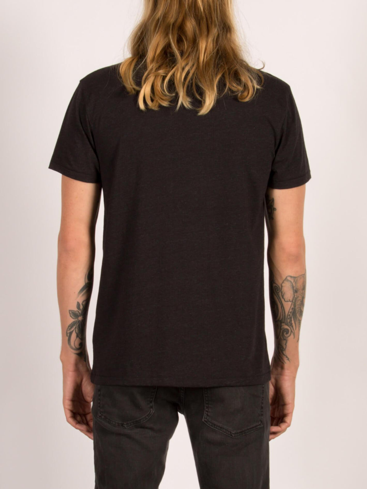 T-Shirt Bloom Day Blended - Heather Black