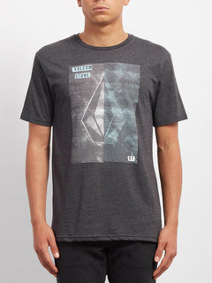 Line Tone Hth  T-shirt - Heather Black