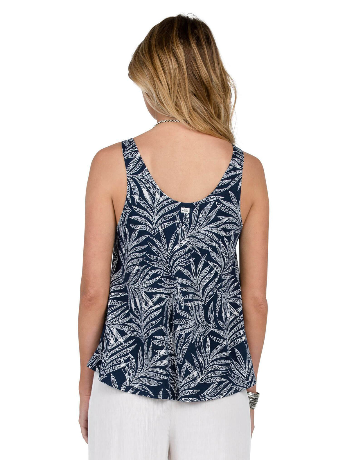 Tanktop Touch My Sol - Sea Navy