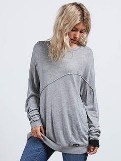 Simply Stone Top aus Wirkware - Heather Grey