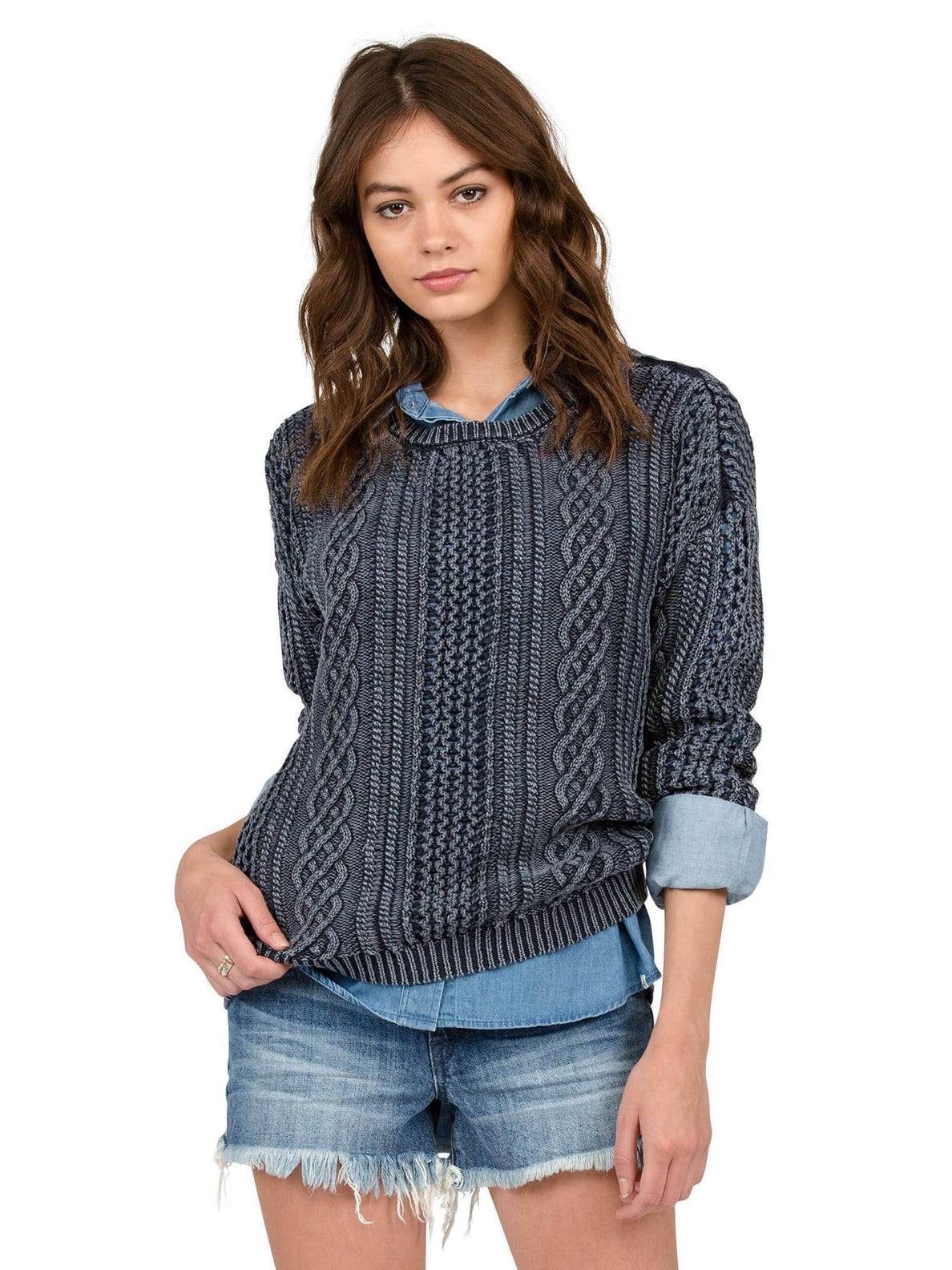 Pullover Mess Round - Sea Navy