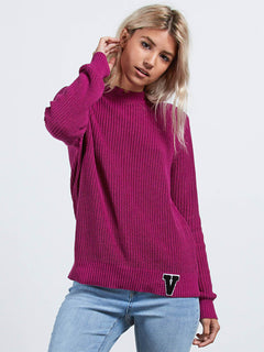 Snatch  Pullover - Paradise Purple