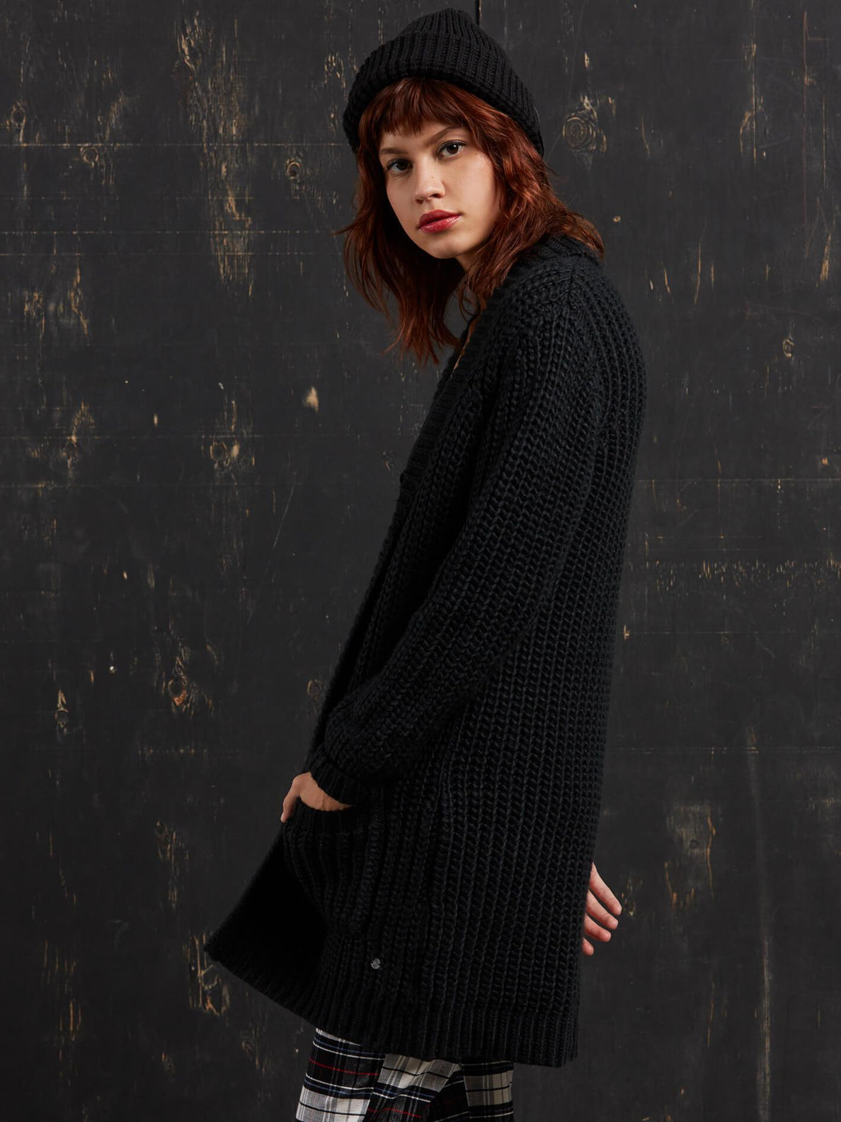 Cardigan Gmj Long - Black