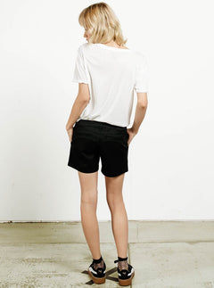 Chino-Shorts Frochickie Midi - Black