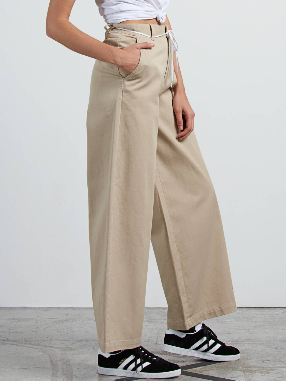 Slashing Stone  Hose - Oxford Tan