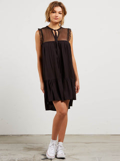 Kleid Sea Y'Around - Black