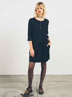 Kleid Space Trip - Black