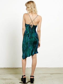 Trägerkleid GMJ - Midnight Green