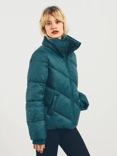 Jacke Full Of It - Midnight Green