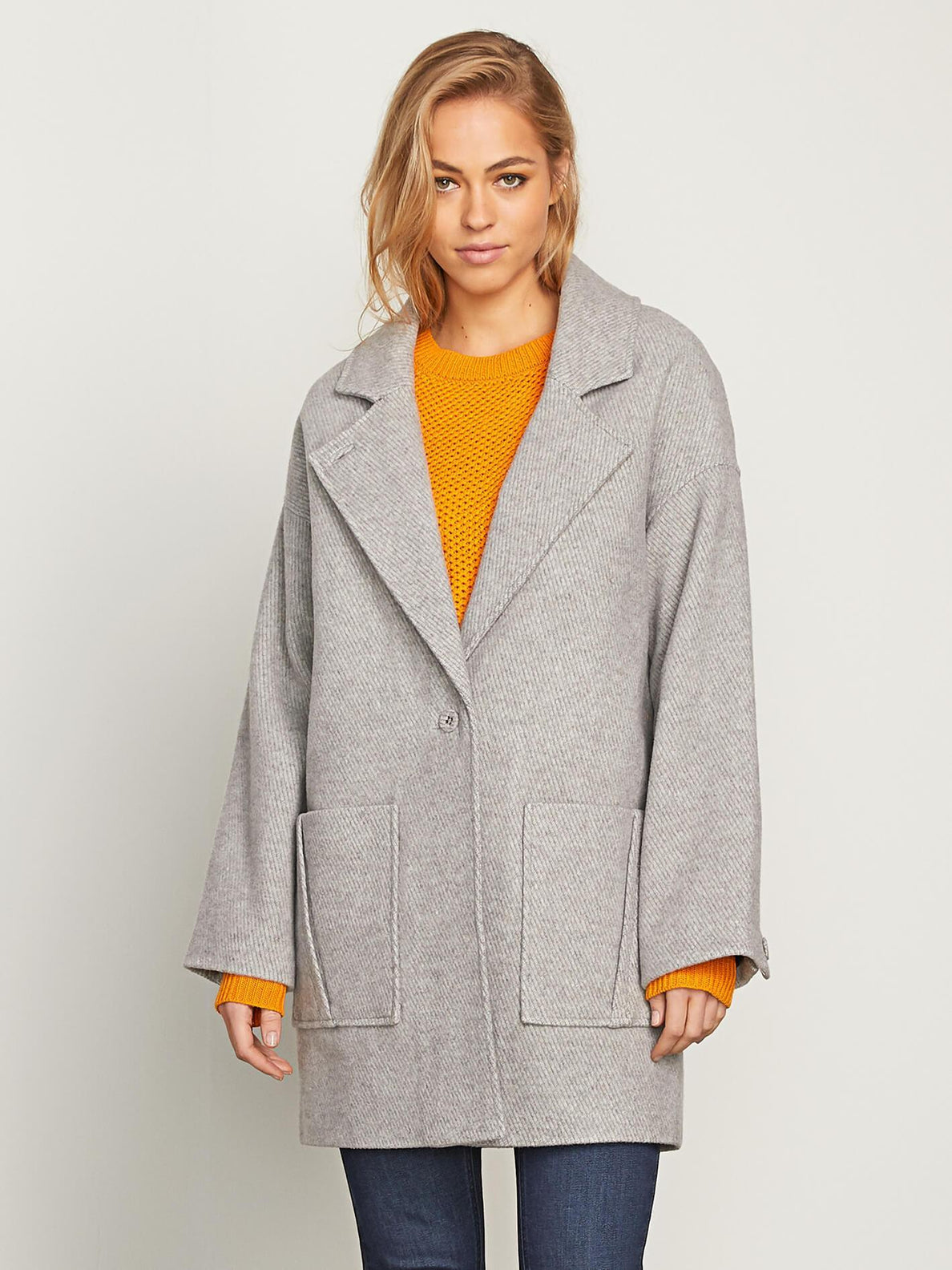 Volcoon Coat Jacke - Heather Grey