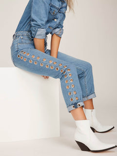 Gmj Bf Jean Jeans - Light Blue