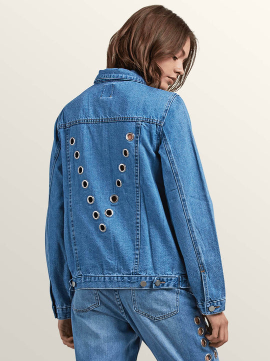 Gmj Denim Jacke - Light Blue