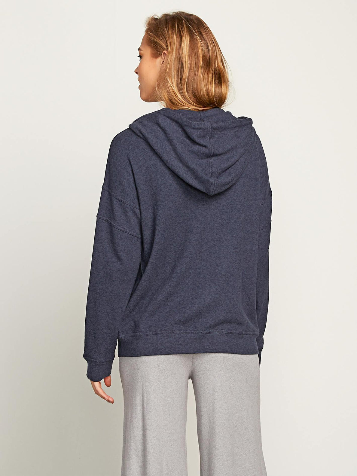 Lil Zip Sweatshirt - Sea Navy