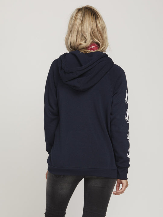 Deadly Stones Hoodie - Sea Navy