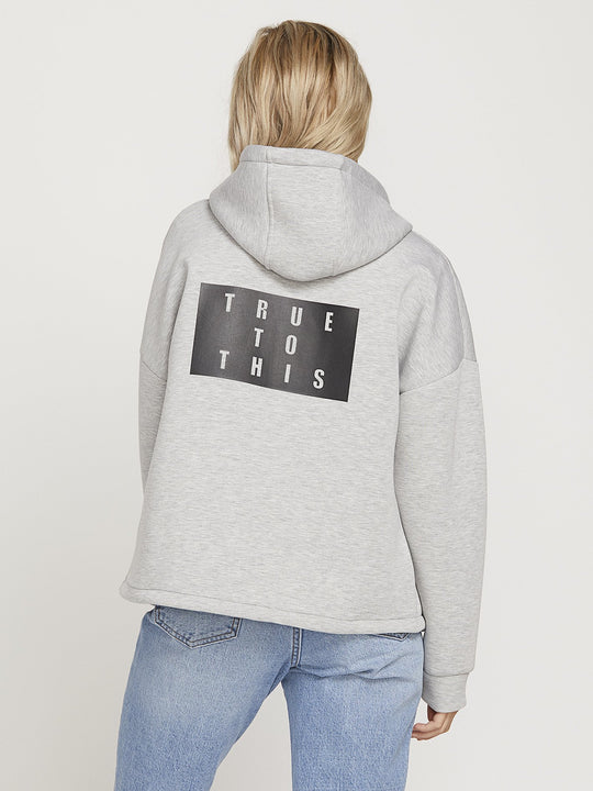 Time's 4 Hoodie - Light Grey