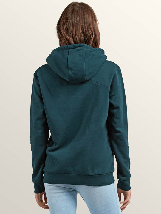 Walk On By High Neck Sweatshirts - Evergreen