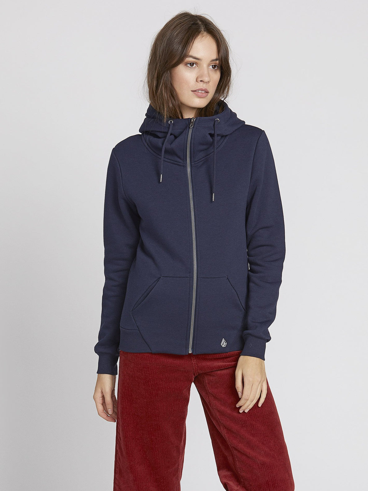 On Walk Zip Kapuzenjacke By Sea Navy – Flce Volcom Deutschland Yb7gf6yv
