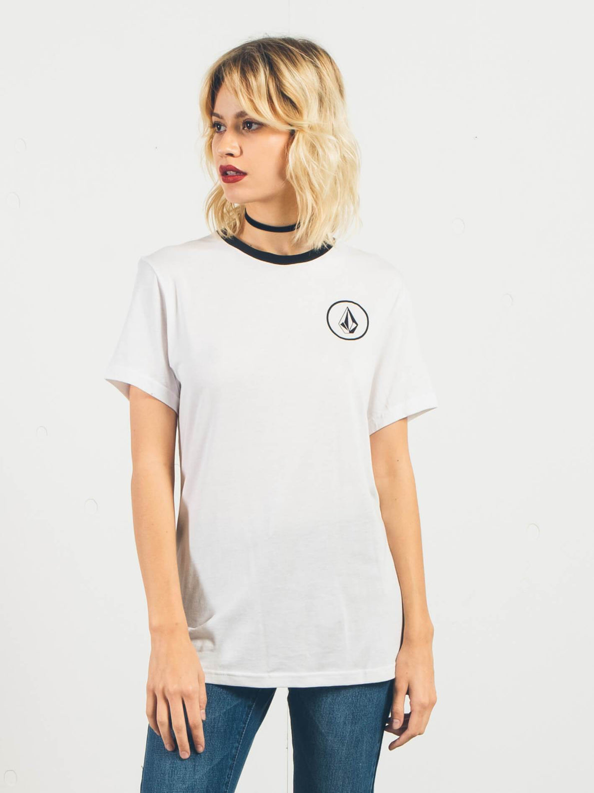 T-Shirt Simply Stoned - White