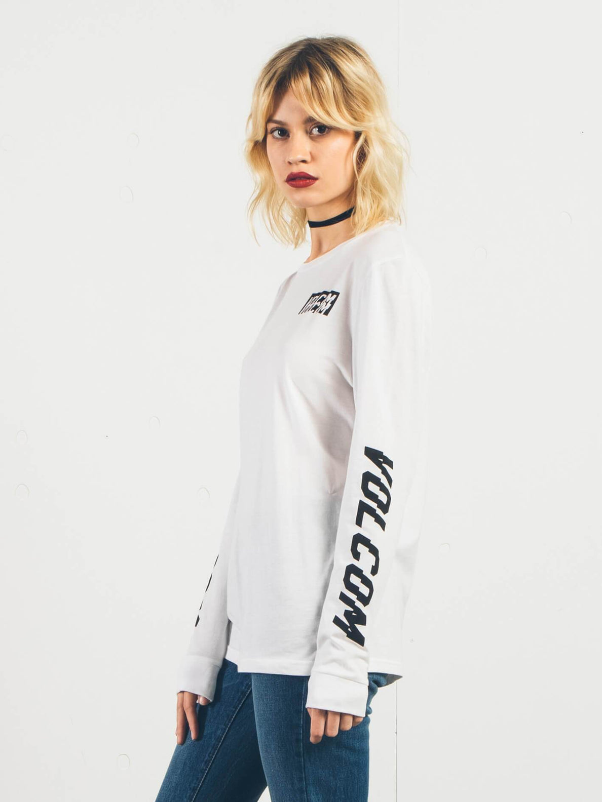 Longsleeve Simply Stoned - White
