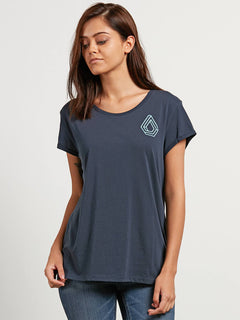 Radical Daze  T-shirt - Sea Navy