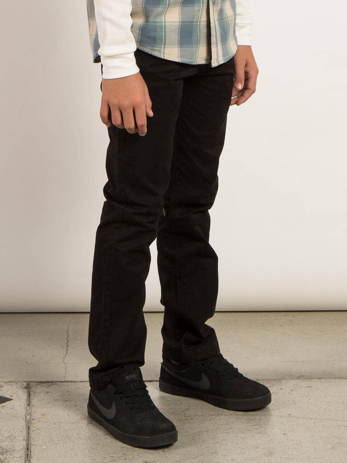 Frickin Slim Chino Chino - Black (kinder)